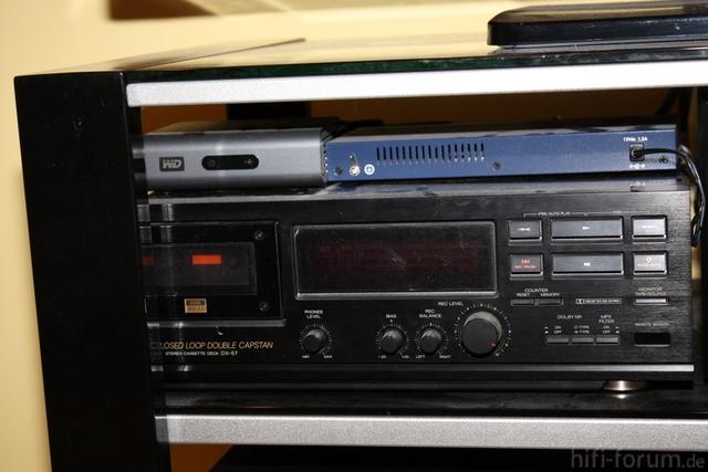 Akai DX-57, Western Digital HD Live, Netgearch Switch 8-Port