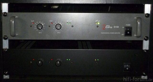 Frontplatte T.Amp S-150