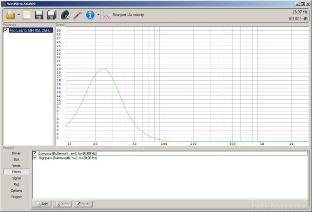 Lab12 BR 85L 25Hz Air Velocity