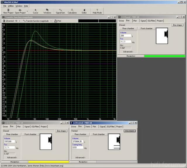 Simulation MBH 18