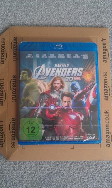 Avengers 3D BD