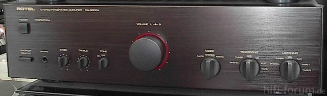 Stereo Amplifier ROTEL RA980BX
