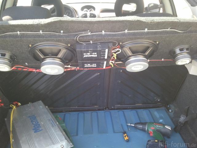 Mein Kofferraum (die Hochtöner Sieht Man Nur Von Oben)