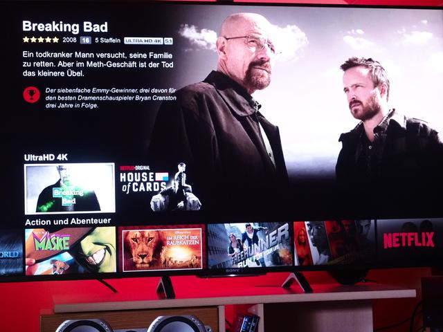 Netflix 4k  Sony-TV