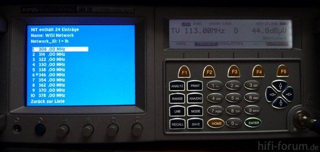 Antennen-/Kabelmeßkoffer AMA310 Im Einsatz