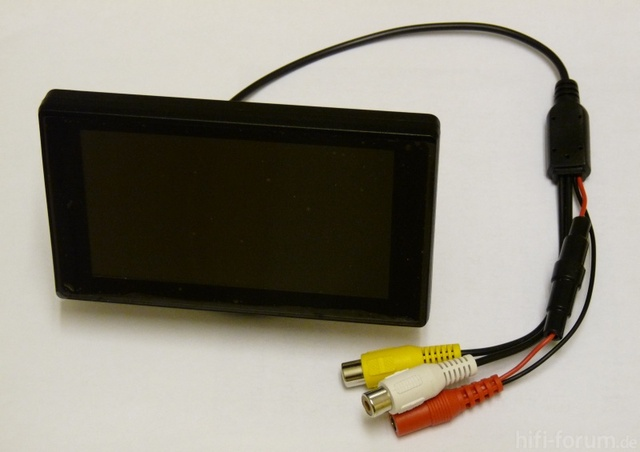 Mini-Display Zur Nutzung Am DVB-Receiver