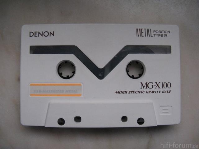 Denon Metal Cassette