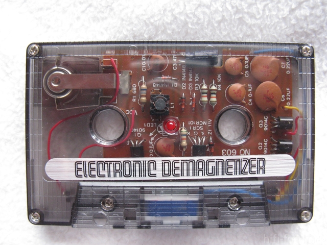 Entmagnetisierungs Cassette