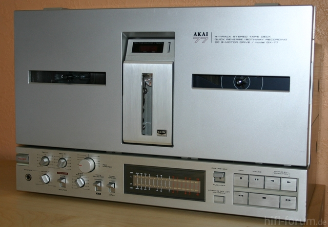 GX 77 Vorne
