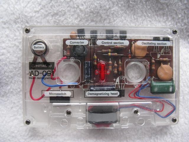 Hitachi Entmagnetisierungs Cassette