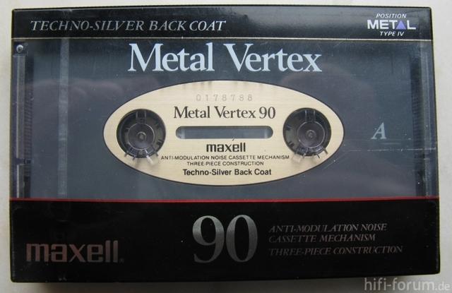 Maxell Metal Vertex Klein 7681