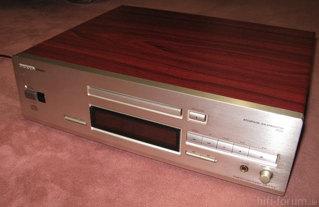Onkyo DX 7711 komplett mit Holzdekor
