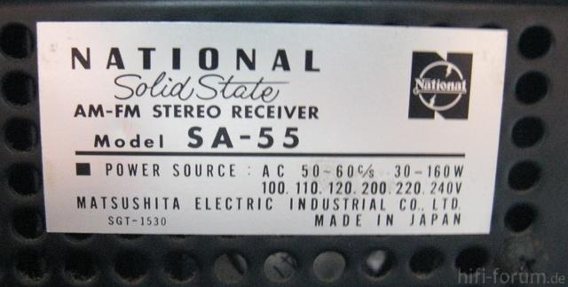 SA 55 Type