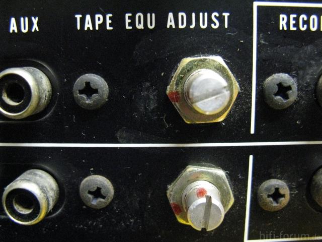 Tape EQU Adjust