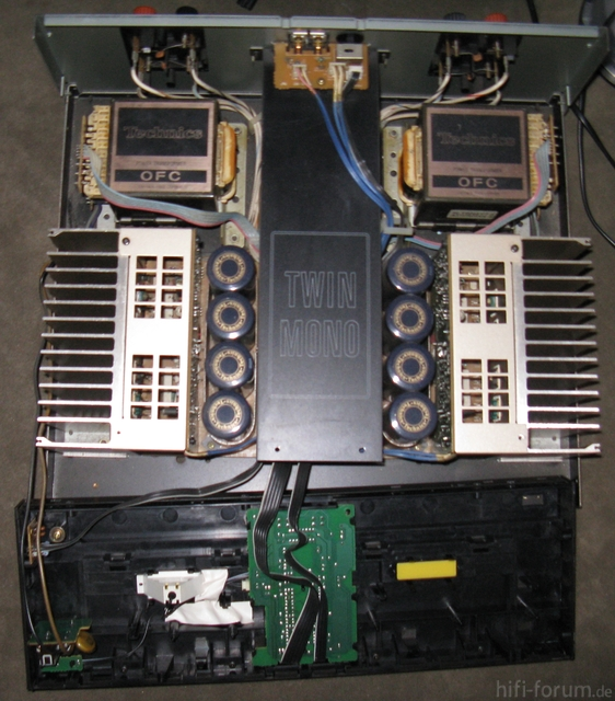 Technics SE A50 Innenaufbau
