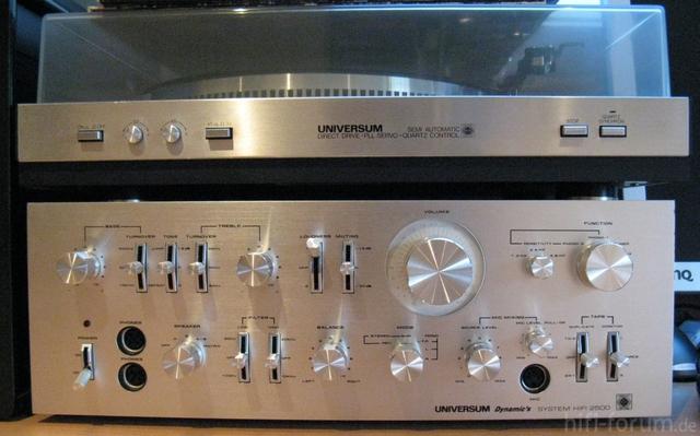 Verstärker 2500 Und Dreher 2001