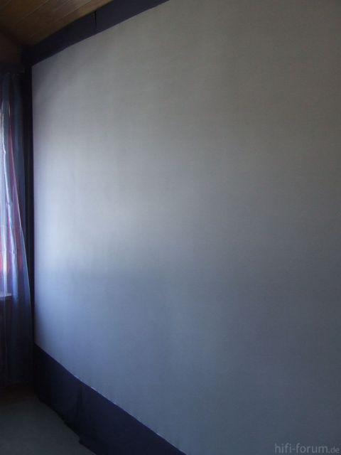 Leinw  Fensterseite