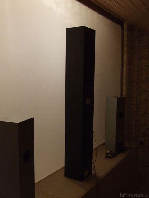 Provisorische Lautsprecher