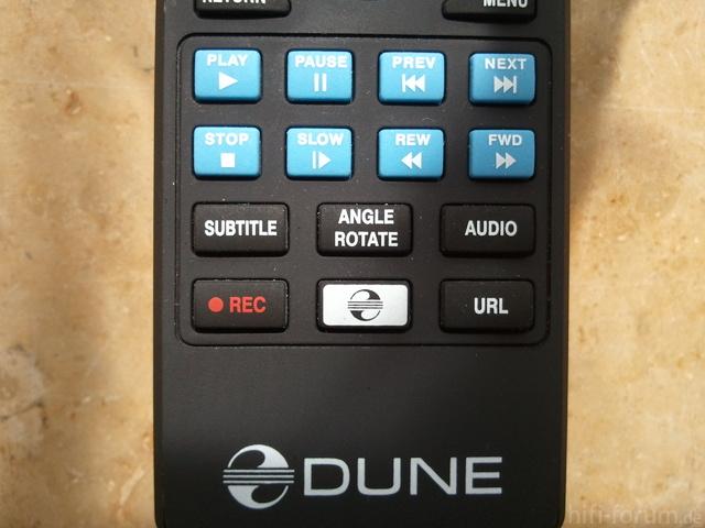 Dune HD Fernbedienung