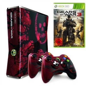 Xbox 360 Slim 360 GB Gears Of War Edition