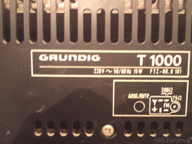 Grundig T1000Bld2