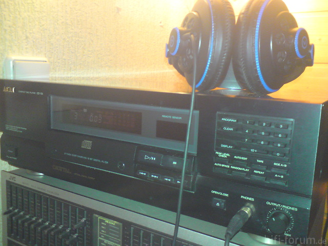 Sinn 7 Monitor Kopfhörer + Akai CD-55