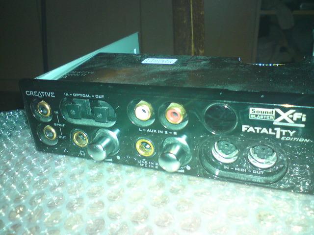 Soundblaster X-Fi Fatal1ty Bild 2
