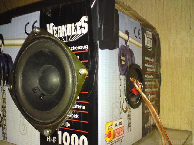 Tangband OEM Breitband L-Port Lautsprecher