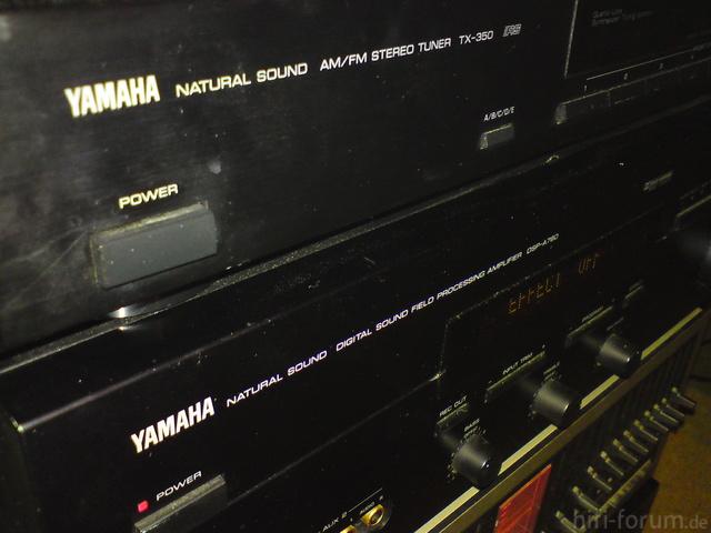 Yamaha TX-350 Closeup2