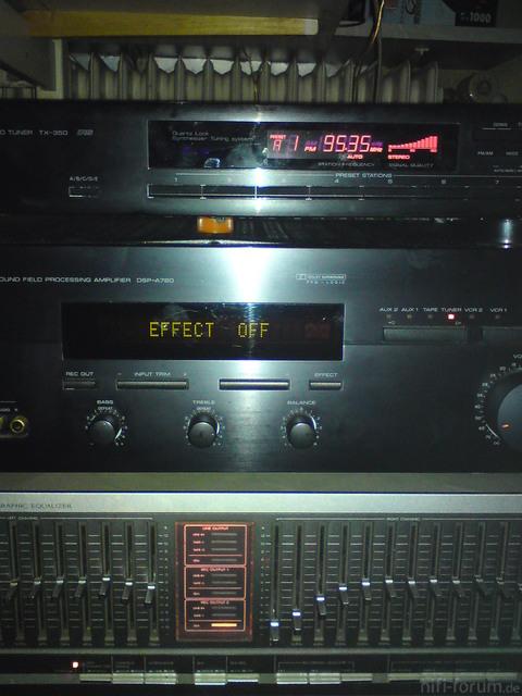 Yamaha TX-350 Pink Beleuchtung 2