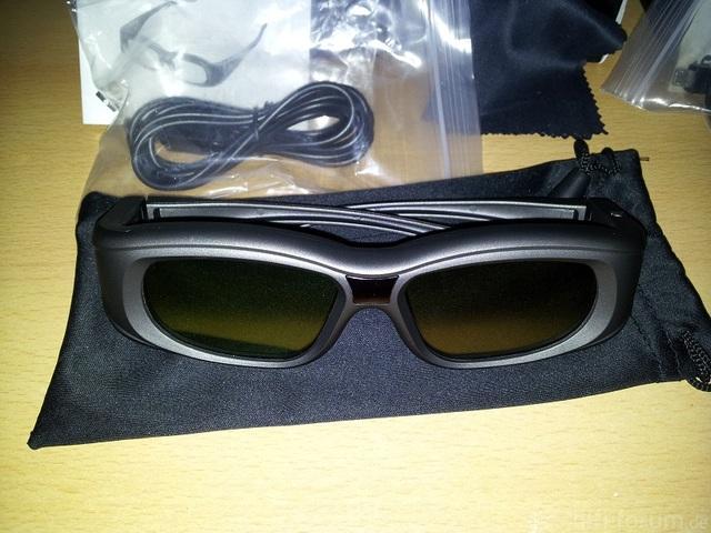 Universal 3D Brille
