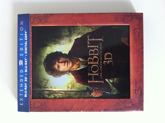 The Hobbit 3D Blu-Ray - Extended