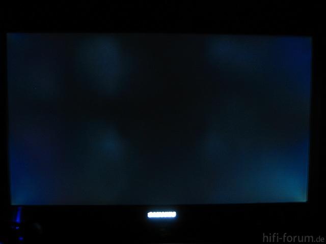 Samsung UE32C8790 - Clouding Ohne Künstliche Aufhellung