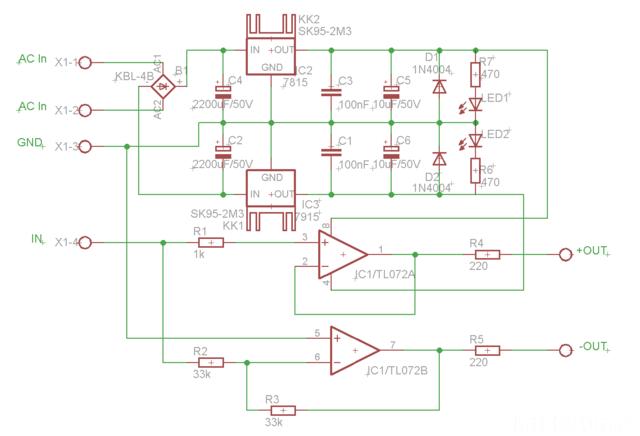 Balanced-Line-Transmitter