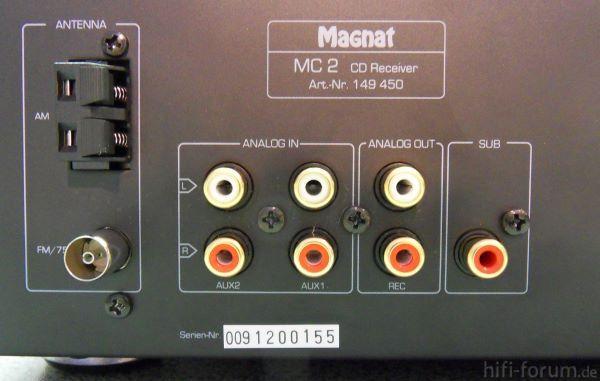 Magnat MC 2