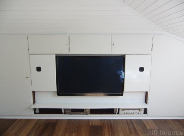 Frontal TV Nische