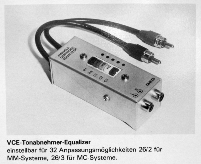 QED Variable Cartridge Equalizer