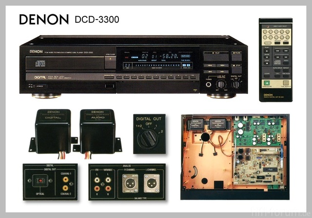 Denon DCD 3300