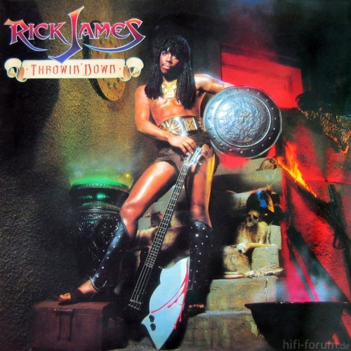 Rick James   Throwin Down