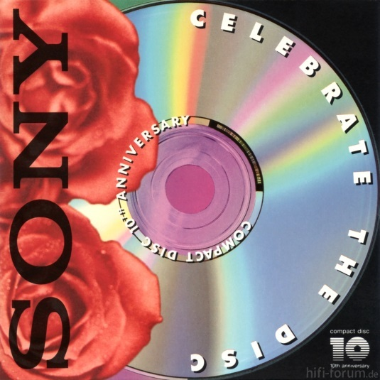 Sony   Celebrate The Disc (Promotion CD)