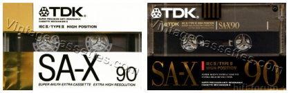 TDK SA X 1988 90kl