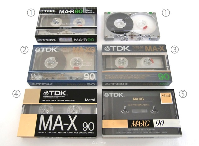 TDK Type IV Audio Cassettes   Copyright OSwiss