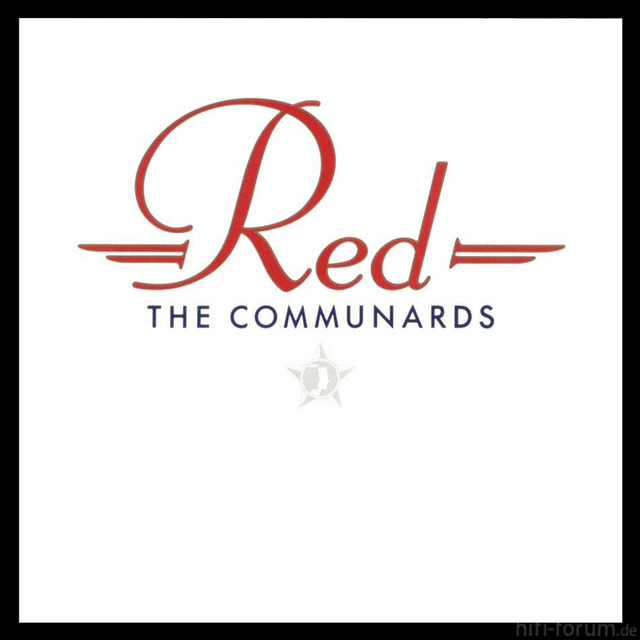 The Communards Red Frontal