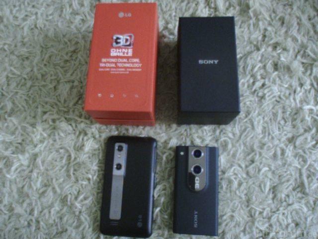 LG Optimus 3D Schlägt Sony Bloggie MHS-FS3