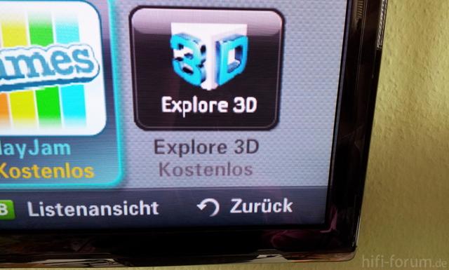 Samsung 3D Explorer UE C55 7700