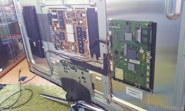 Samsung UE 55 C7700 Boardwecksel
