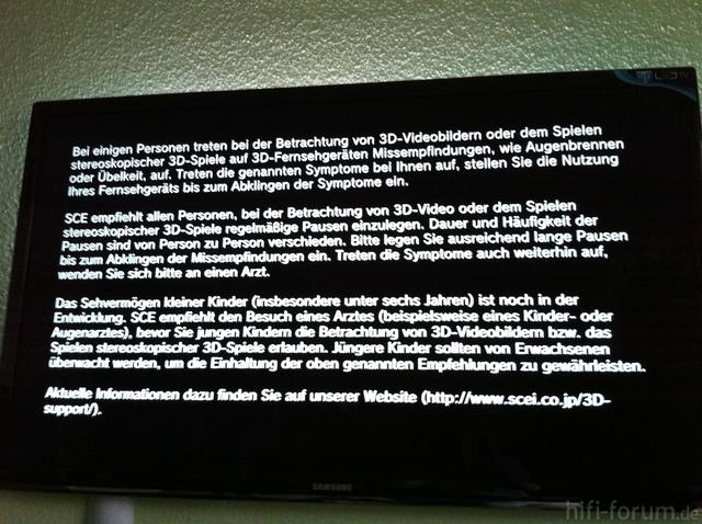 Samsung UE C 55 7700 Schrift