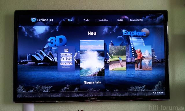 Samsung UE C 7700 3D Sapce 3D Tv 2.0