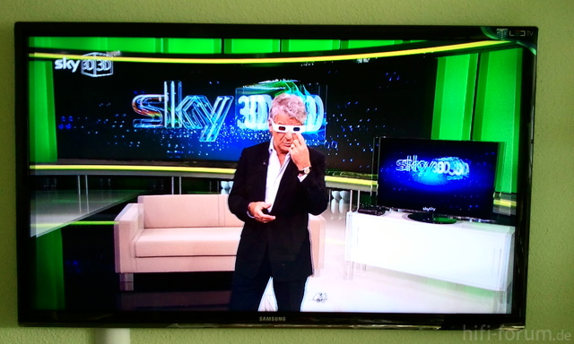 Sky 3D UE 55 C 7700