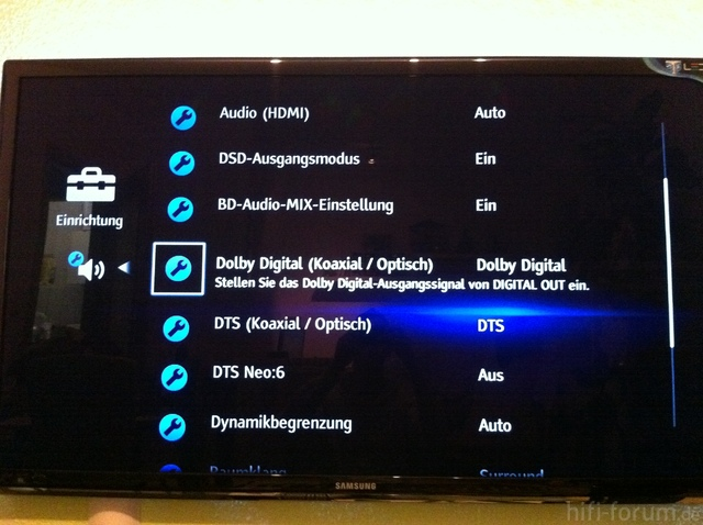 Sony BD DTS